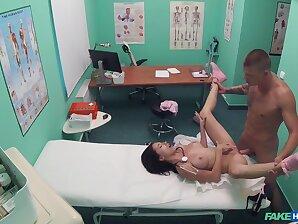 Horny doctor fucks this busty nurse in crazy XXX scenes